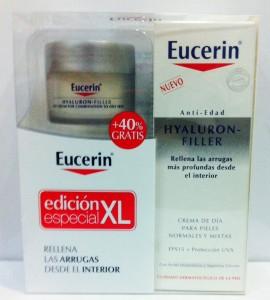 Eucerin Hyaluron Filler para pieles normales o mixtas.