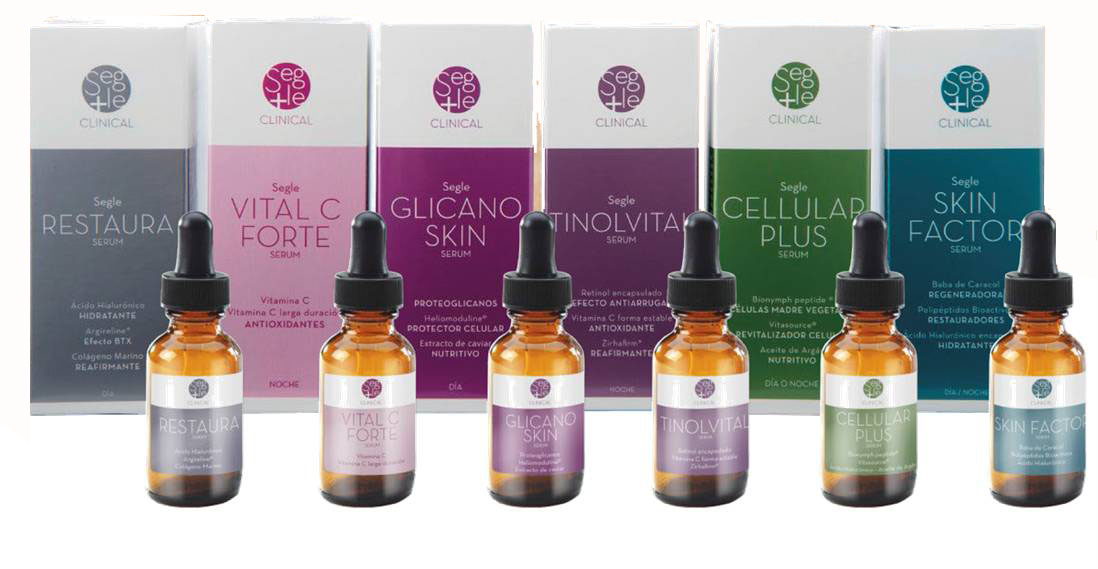 Los serums de Segle Clinical