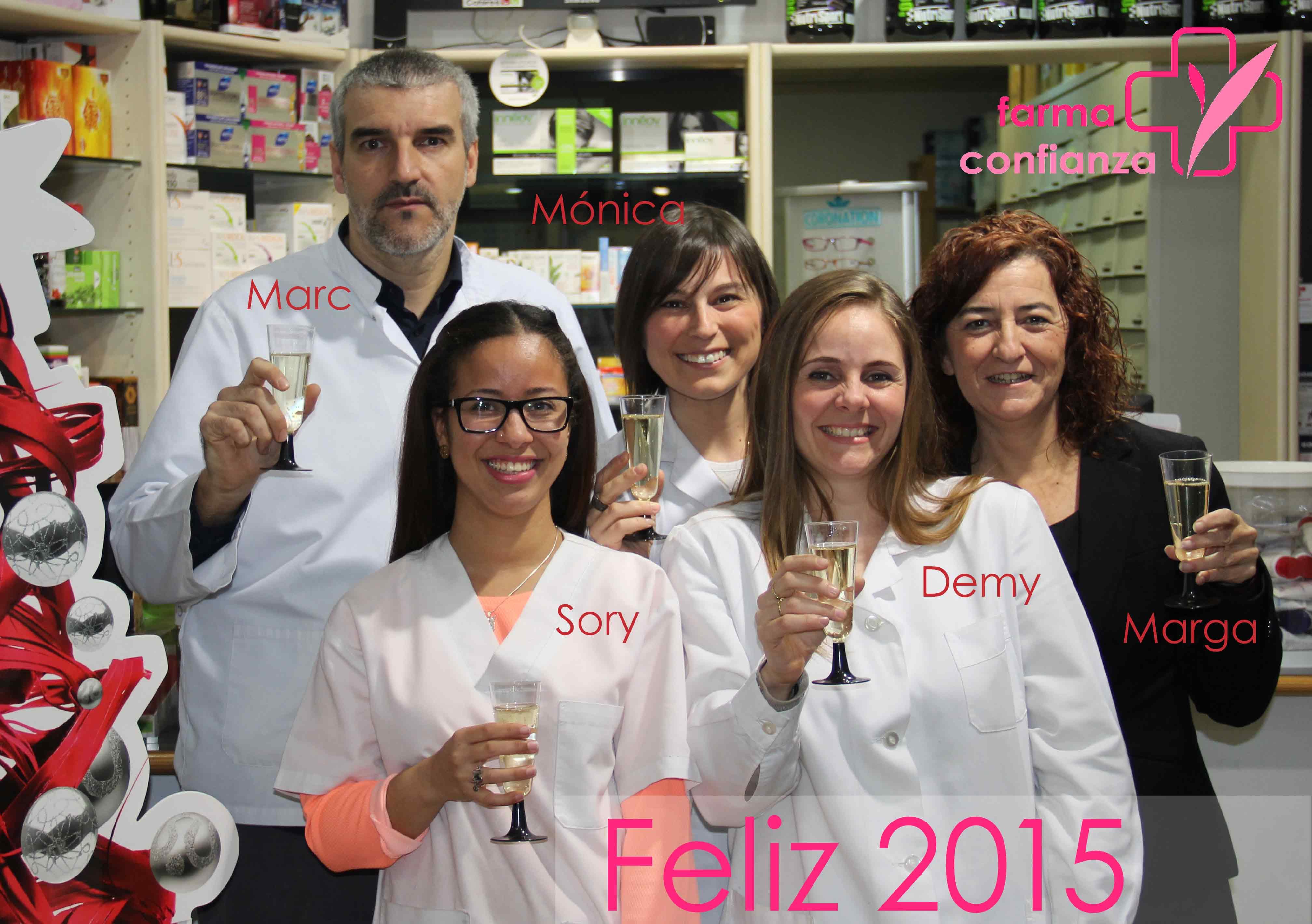 Farmaconfianza Feliz año Nuevo