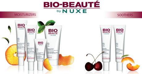 Gama para el rostro de bio beauté by nuxe
