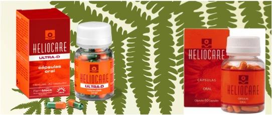 heliocare ultra D y heliocare capsulas oral
