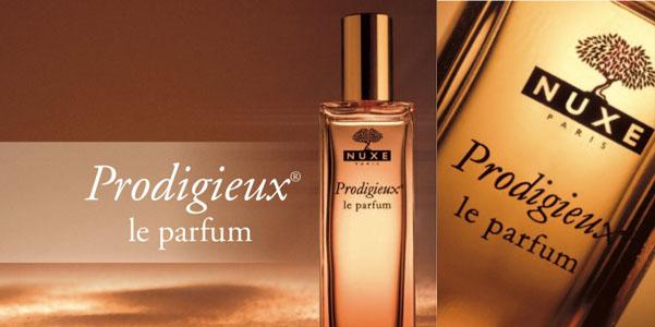 Perfume Prodigioso de Nuxe
