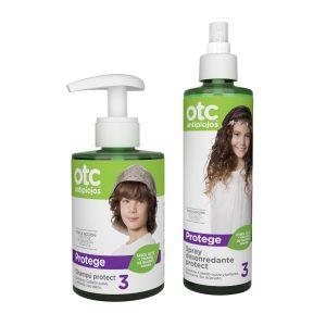 Proteger de los piojos con spray y champú OTC en Farmaconfianza