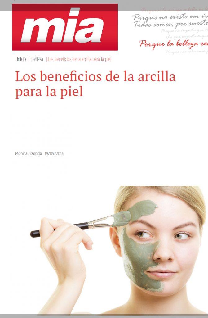 Las arcillas y sus beneficios para la piel