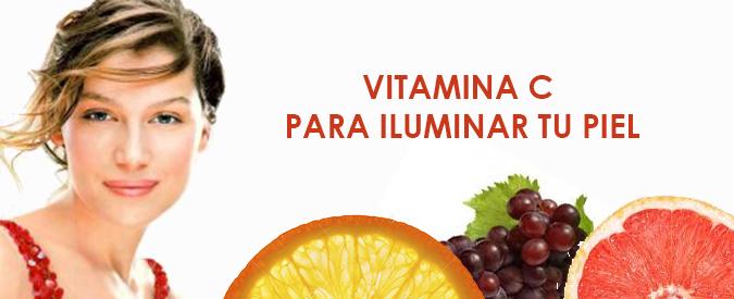 Vitamina C iluminar piel Farmaconfianza