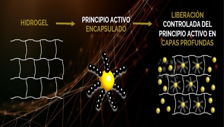 hidrogel biomimetic cosmetics