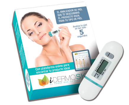 IdermoSkin analizador de piel