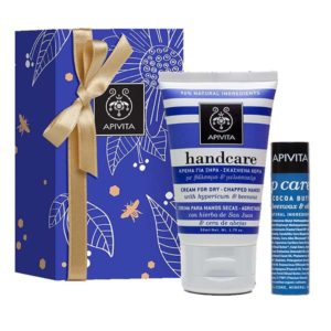 Apivita Pack Handcare & Lip Care