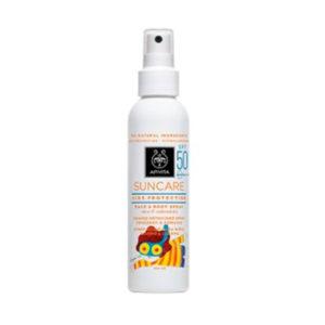 Apivita Suncare Kids Spray Farmaconfianza